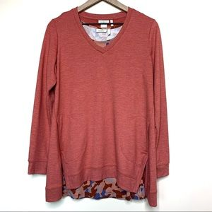 LOGO Lounge Apricot Twinset Pullover Sweatshirt